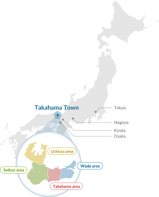 Location of Takahama