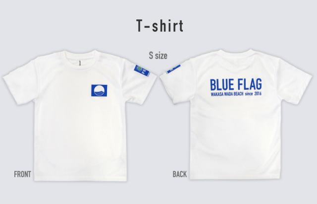 blueflagTシャツ