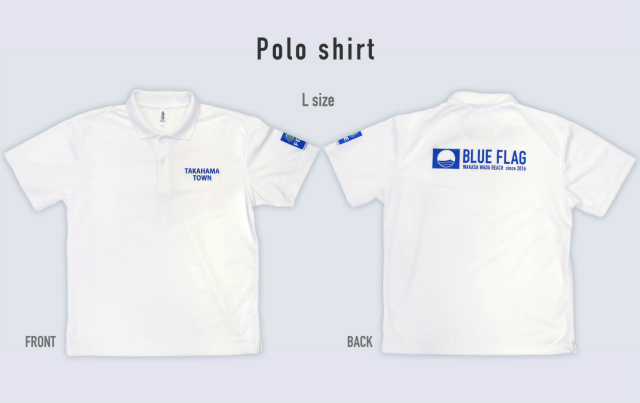 blueflagポロシャツ