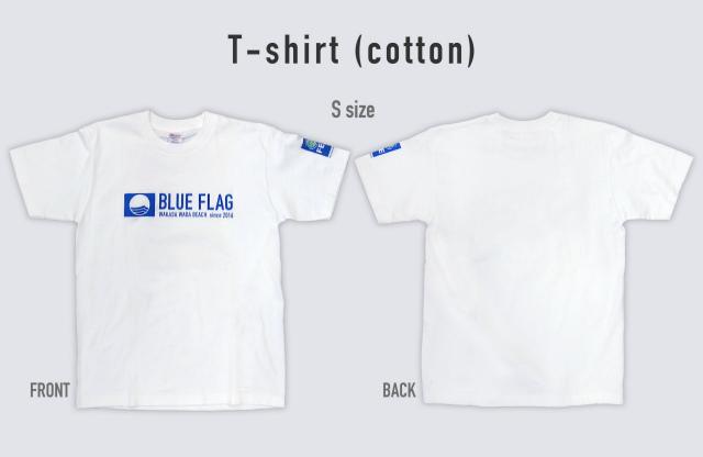 blueflagTコットンシャツ