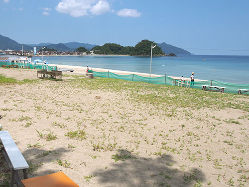 Shirahama Beach BBQ Designated Area